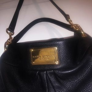Marc Jacobs New York black bag with gold chains